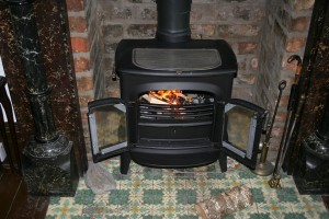our wood stove